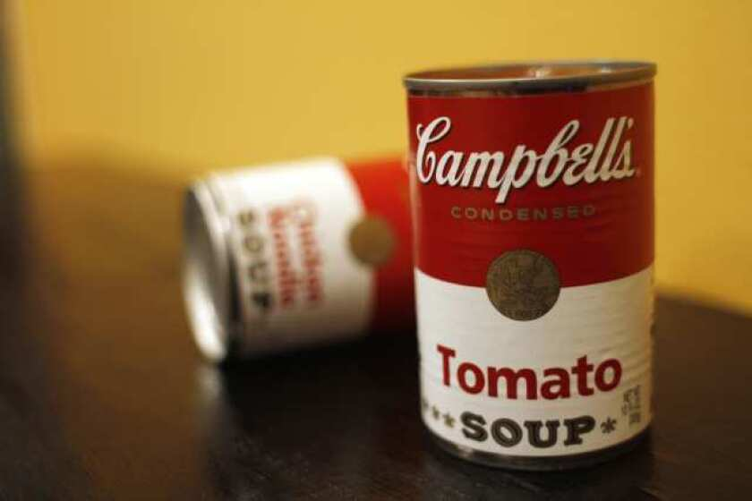 Campbell's soups to be mmm, mmm, more expensive
