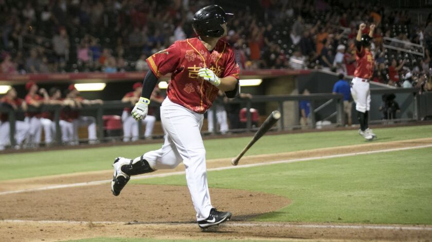 Padres minor league third baseman Ty France was promoted to Triple-A El Paso in 2018.