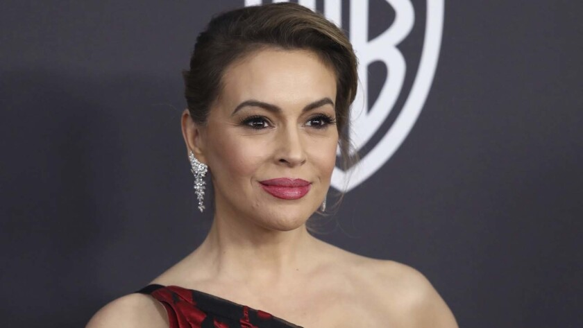 Alyssa Milano, actress and staunch supporter of women's rights, is defending former Vice President Joe Biden.