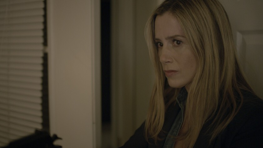 """Mira Sorvino in a scene from """"Beneath the Leaves."""" Credit: Vertical Entertainment"""