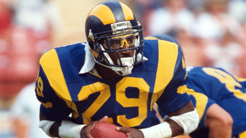 Rams fans want the throwback jerseys of players such as Eric Dickerson.