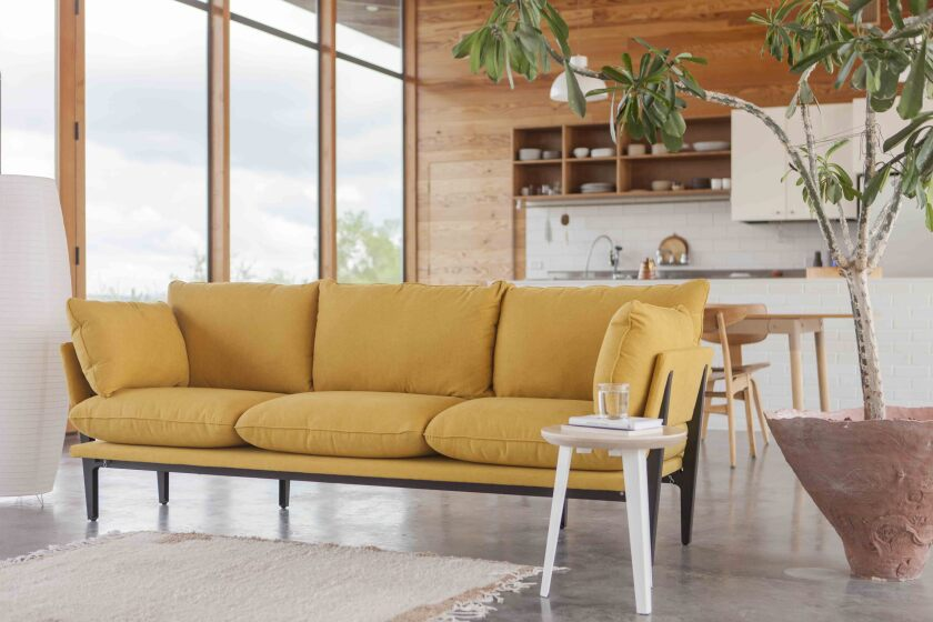 The aptly named Sofa comes in either a two- or three-seat option.