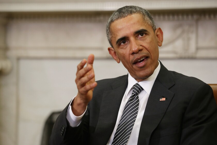President Obama and his administration argue that Texas and 25 other states that sued the government have no legal standing to interfere in federal enforcement of immigration law.