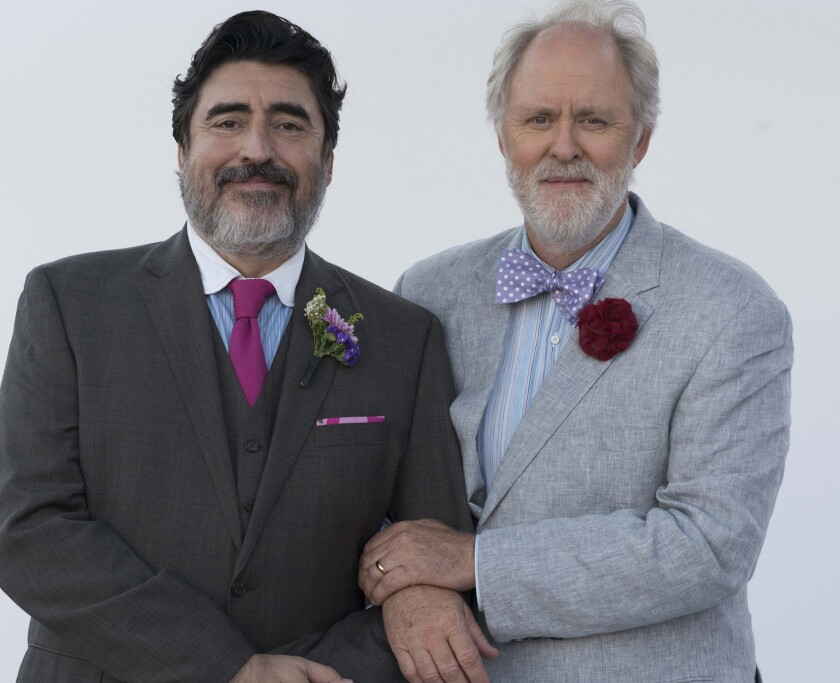 """Alfred Molina as George and John Lithgow as Ben in """"Love Is Strange."""""""