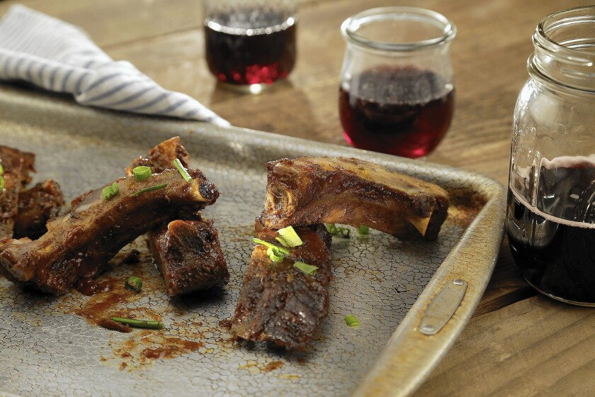 Wine with those beautifully barbecued ribs? We suggest three bold reds.