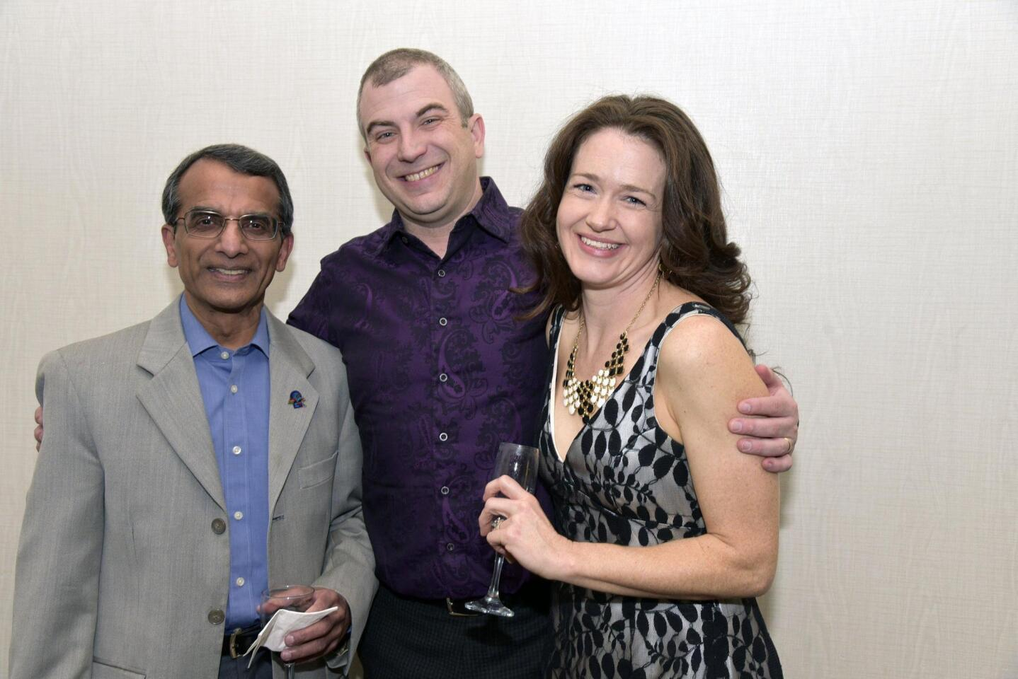 Sanjiv Prabhakaran, Scott Halgrim, Charlotte Jones