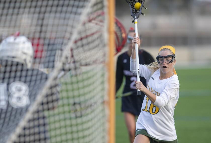 Photo Gallery: Edison vs. Yorba Linda in girls' lacrosse