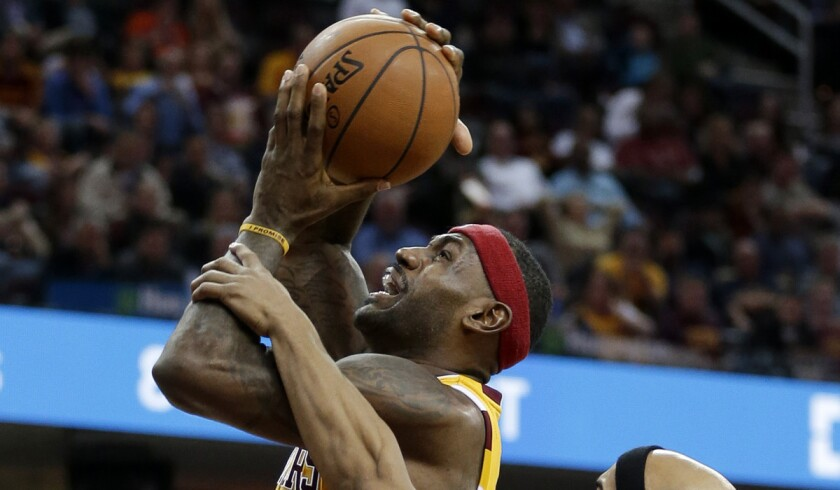 LeBron James, Kevin Love help Cleveland Cavaliers end two-game losing streak