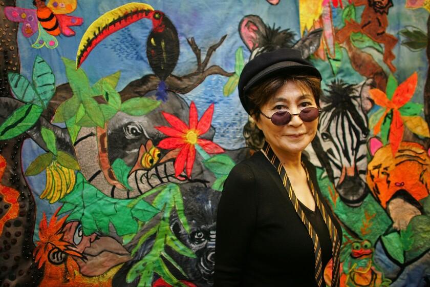 """Yoko Ono will publish a new book, """"Acorn,"""" in June."""