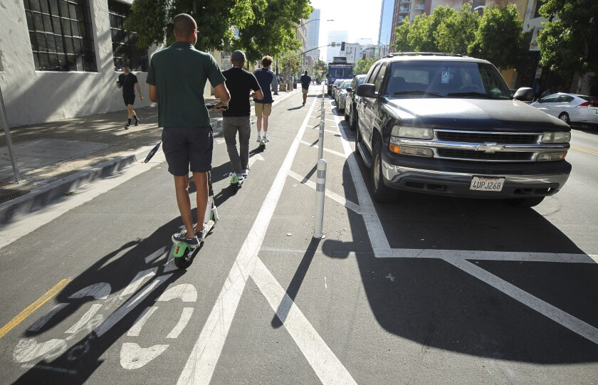 Editorial Protected Bike Lanes Are The New Normal In San Diego