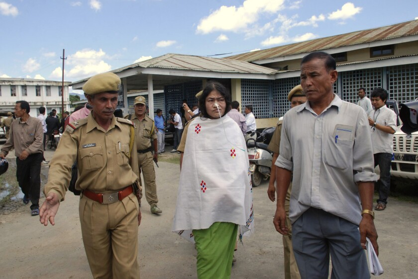 Irom Sharmila has waged a hunger strike for 11 years, seeking an end to legal immunity for Indian troops. But even as she vows to continue her fast, Irom -- who has a suitor -- also dreams of a normal life.