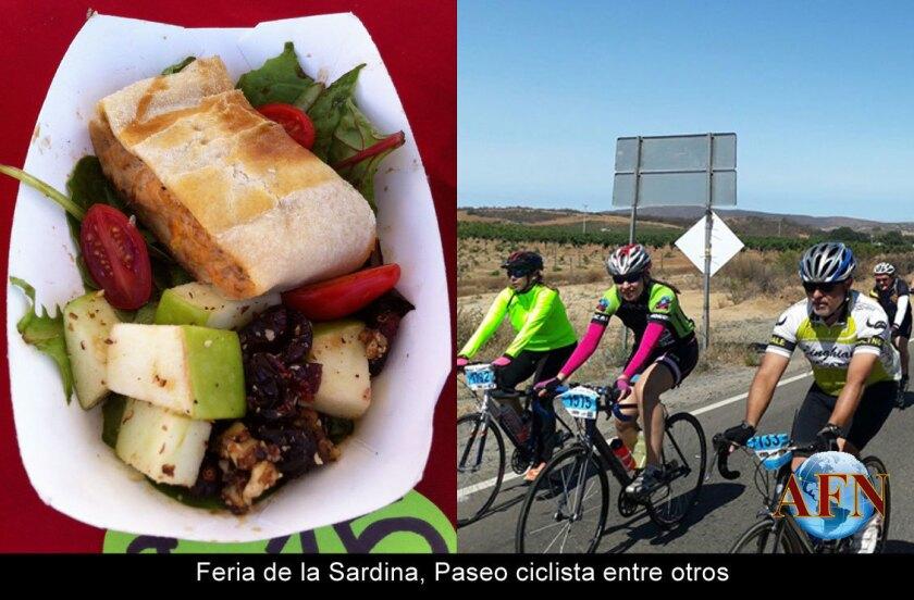 Feria de la Sardina, Paseo ciclista entre otros