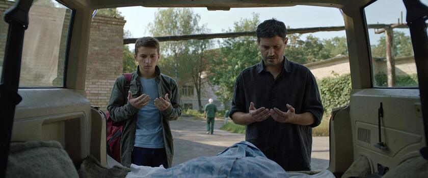 """A scene from the Ukrainian film """"Homeward."""""""