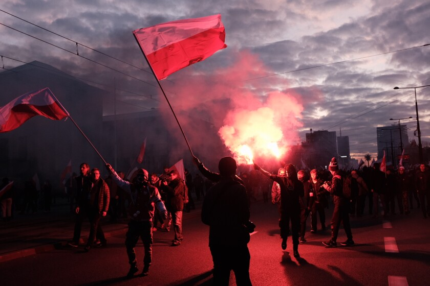 People celebrate Poland's Independence Day