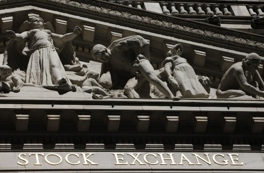 U S  stocks slump after more China tariffs kick in - Los