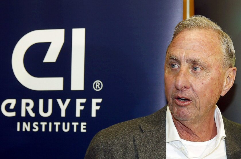 Johan Cruyff dies of cancer at the age of 68