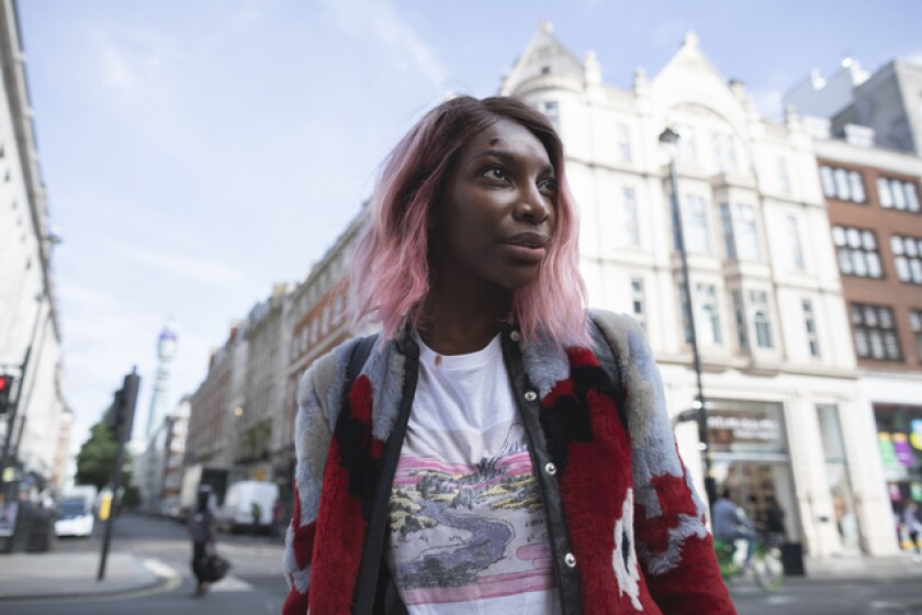 """Michaela Coel in her HBO series """"I May Destroy You."""""""