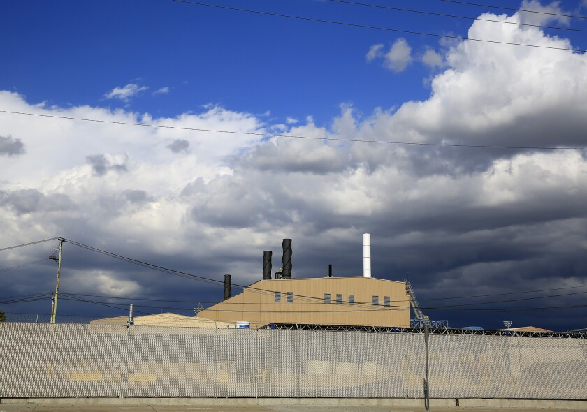 The now-shuttered Exide Technologies battery recycling plant in Vernon.