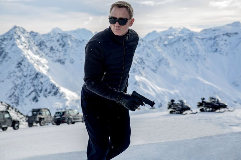 "Daniel Craig plays Agent 007 for the fourth time in ""Spectre."" The latest film in the James Bond franchise grossed an estimated $28 million in its official U.S. opening on Friday."