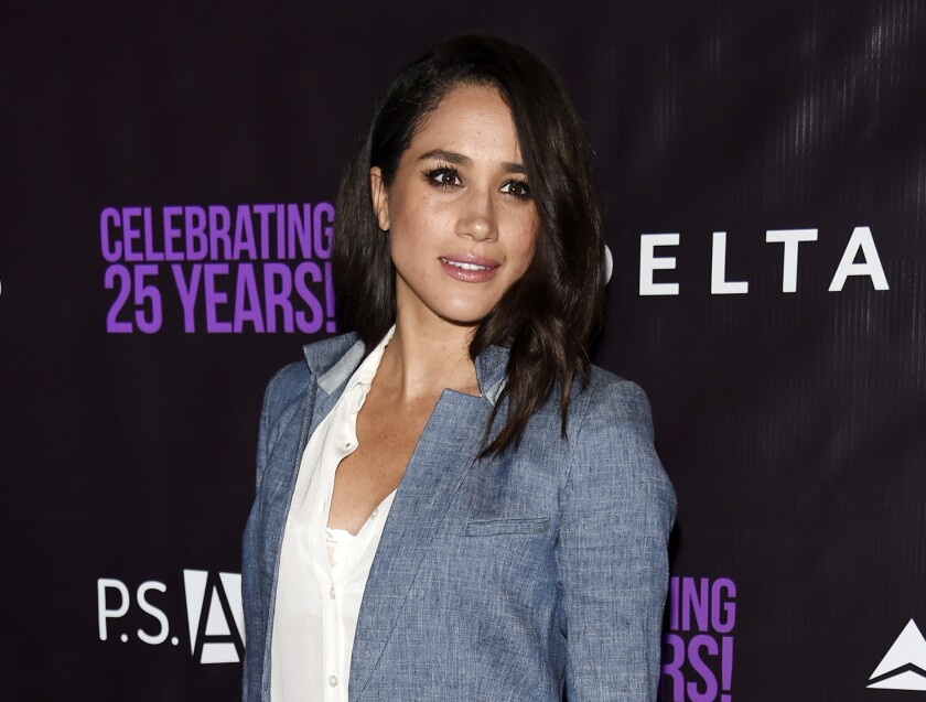 Meghan Markle, now the Duchess of Sussex