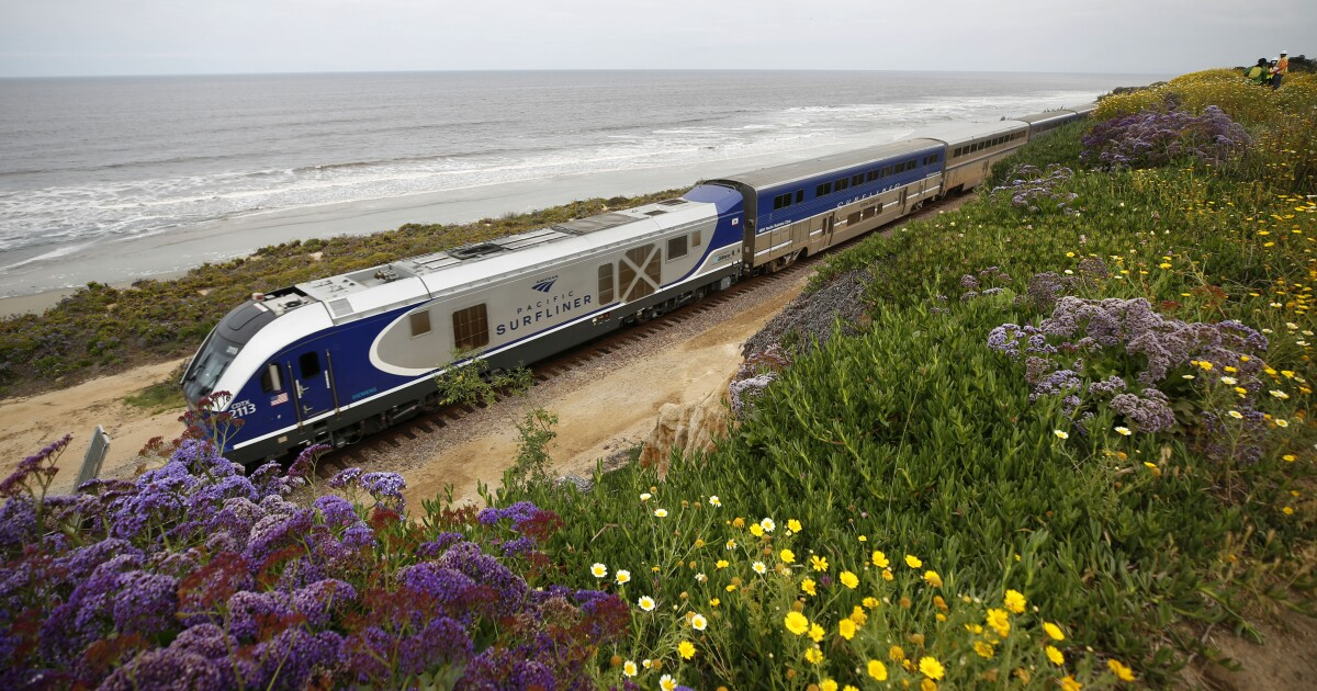 Residents fight plan to fence coastal railroad tracks in San Diego County