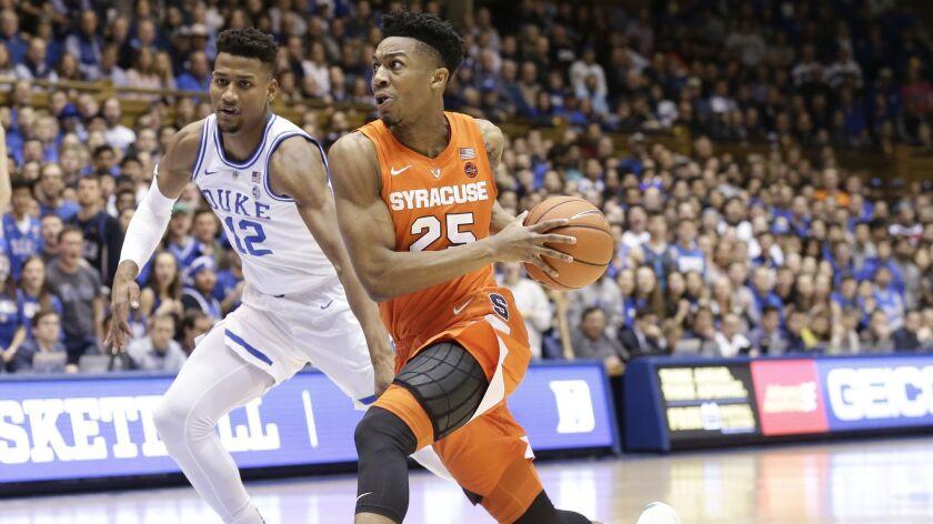 College basketball: Tyus Battle helps Syracuse upset No  1