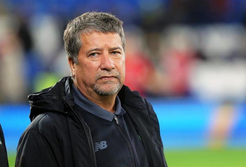 En la imagen, el seleccionador de Ecuador, el colombiano Hernán Darío Gómez. EFE/Archivo