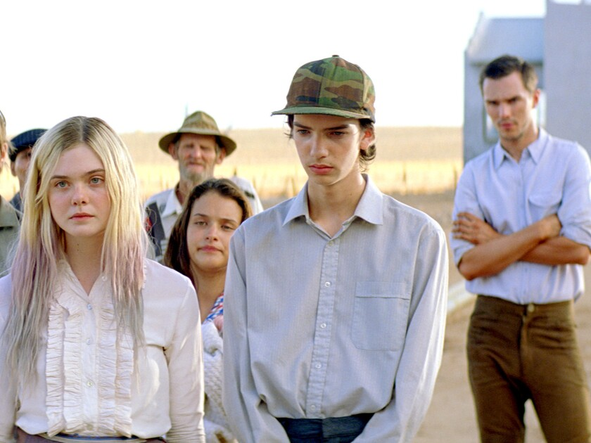 """Elle Fanning, Kodi Smit McPhee and Nicholas Hoult in """"Young Ones."""""""