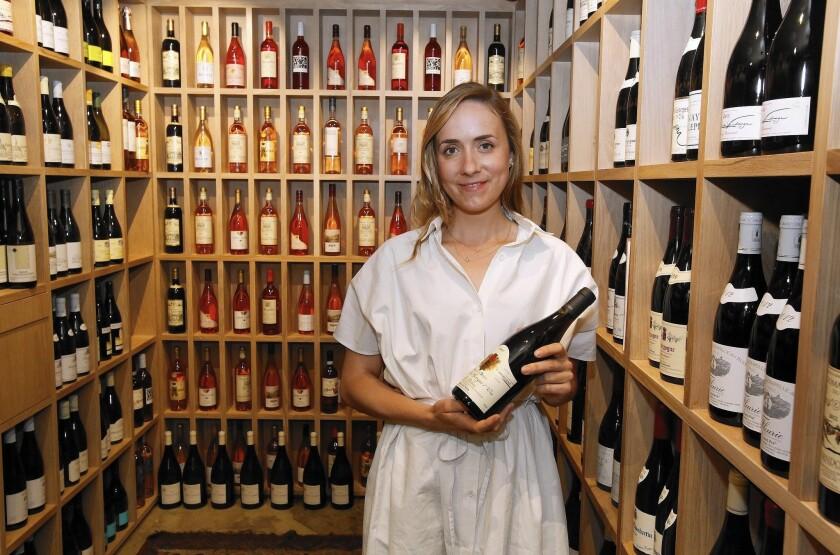 Helen Johannesen at Helen's Wines