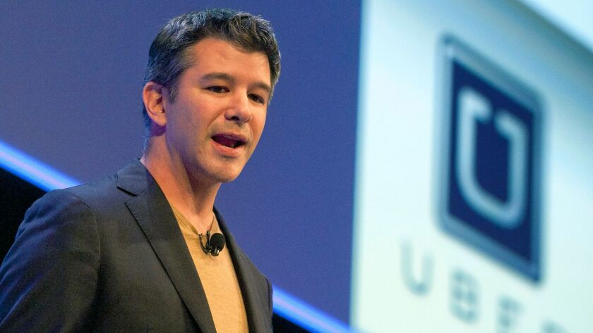 Travis Kalanick: No longer Uber's CEO, but still hiding behind the company's arbitration clause.