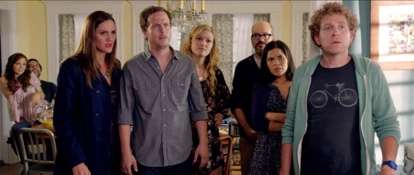 Review: 'It's a Disaster' is a wry take on the small-minded