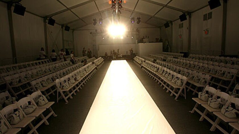 RUNWAY RECESSION: The usual extravaganzas will be tailored with pragmatism and penny-pinching.