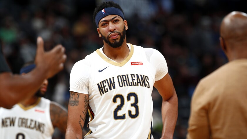 All-Star forward Anthony Davis has been to the playoffs with the Pelicans just once in his previous five seasons.