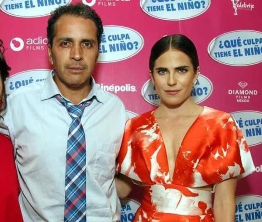 Gustavo Loza y Karla Souza.