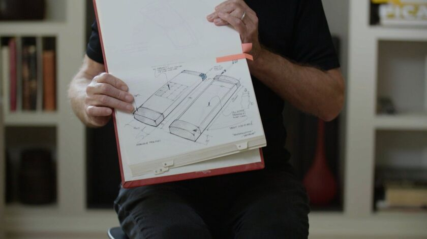 """General Magic founder Marc Porat and his early vision for the smartphone in a scene from """"General Magic."""""""