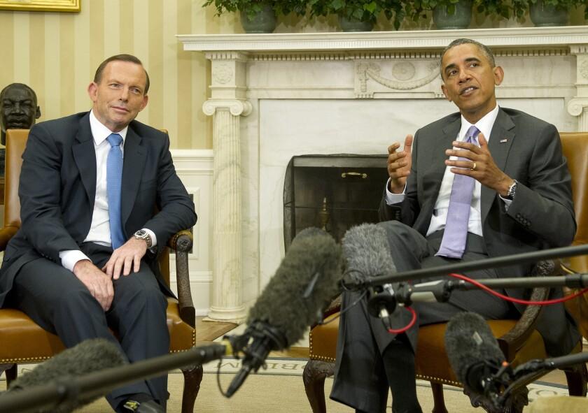 Obama, Abbott