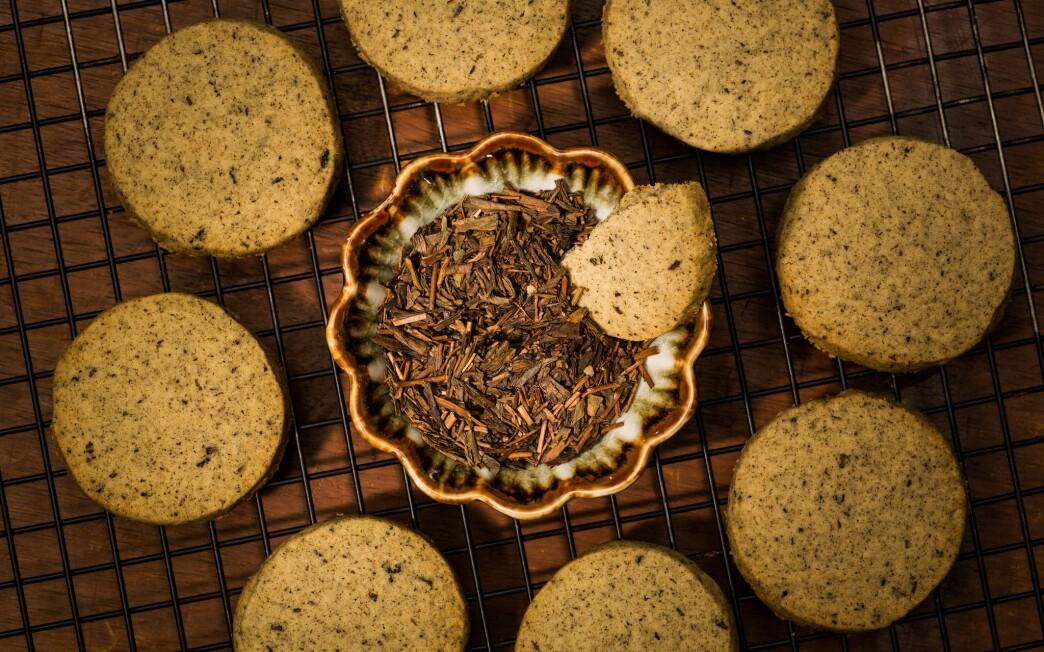 Hojicha cookies