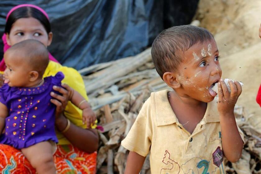 Los vacíos en los datos sobre refugiados, solicitantes de asilo, migrantes y desplazados internos ponen en peligro la vida y el bienestar de millones de niños, advirtieron agencias de las Naciones Unidas y otros organismos. EFE/ARCHIVO