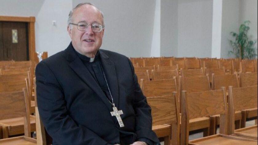 San Diego Roman Catholic Bishop Robert McElroy