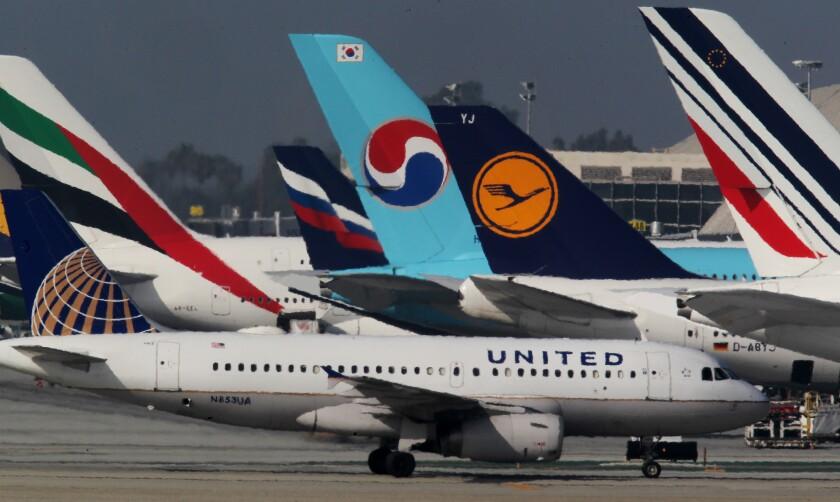 Planes at LAX.