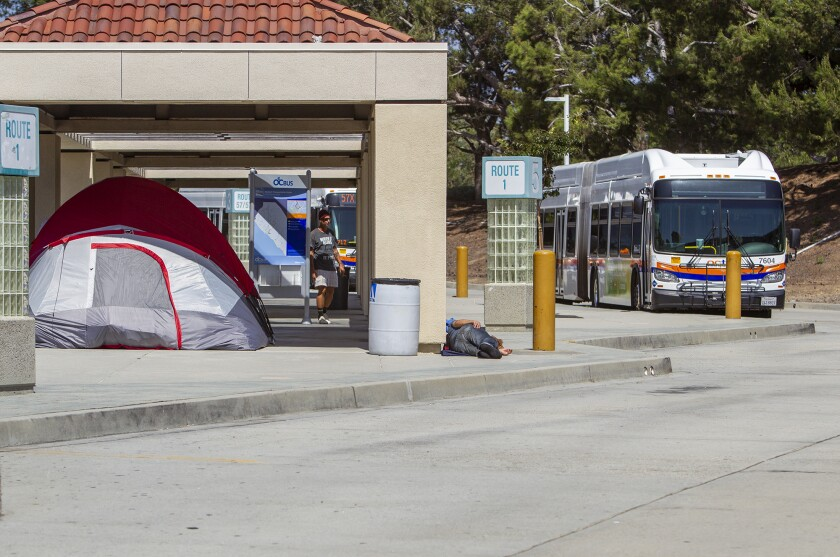 Newport police to restrict overnight access to bus station where homeless congregate