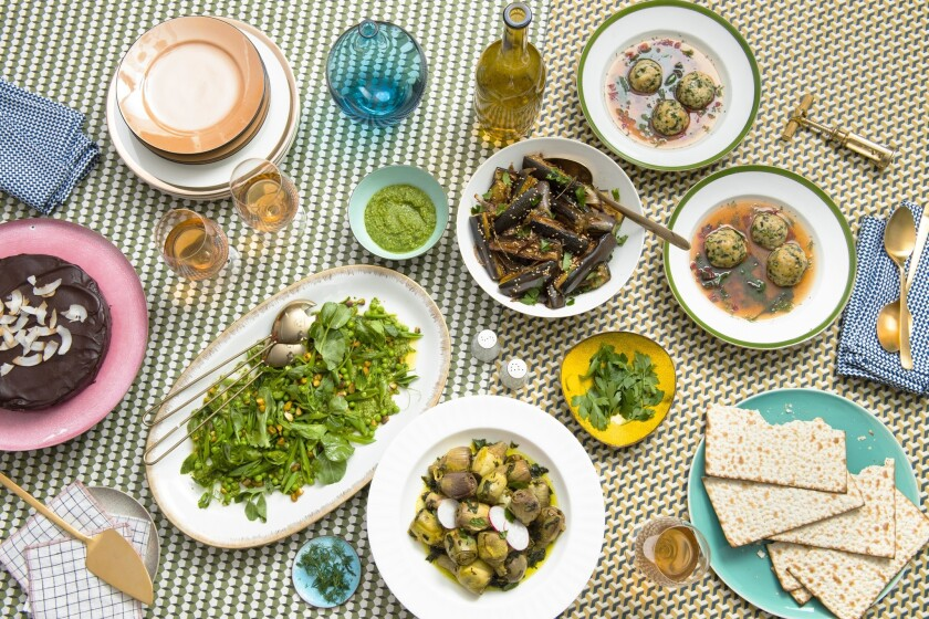 You can make our Passover menu from last year too.