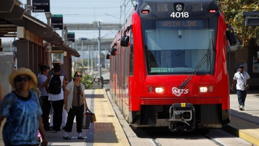 The San Diego Trolley is one of the transportation and planning services provided by SANDAG