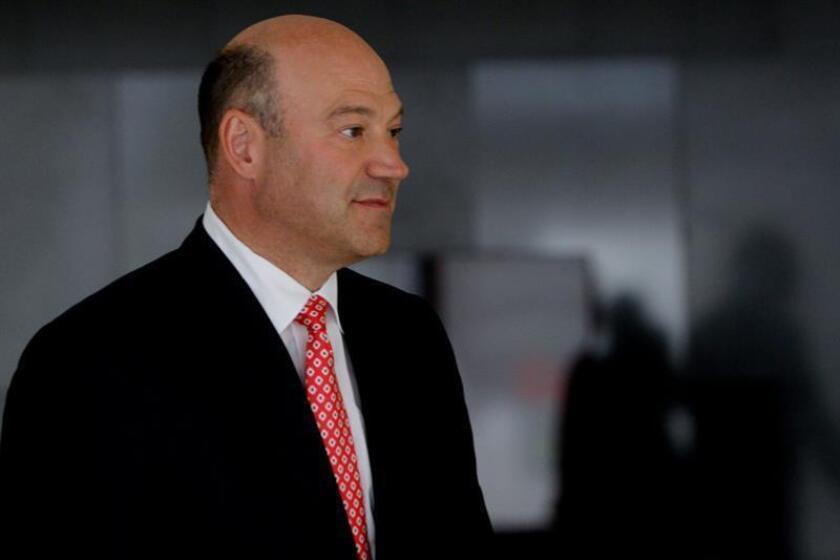 El presidente electo, Donald Trump, designó hoy al presidente del grupo bancario Goldman Sachs, Gary Cohn, para dirigir el Consejo Económico Nacional, encargado de coordinar la política económica. EFE/ARCHIVO