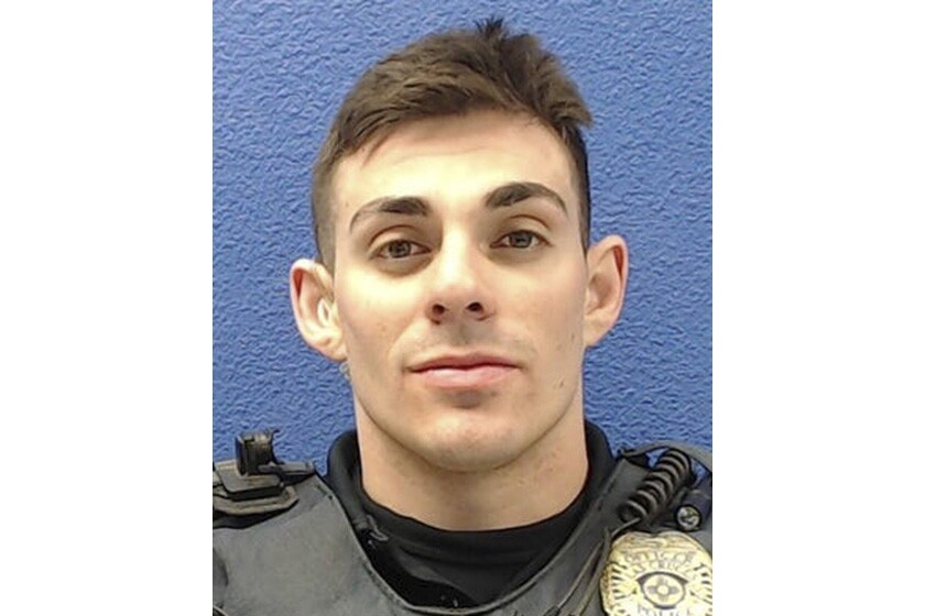 Former Las Cruces Police Officer Christopher Smelser