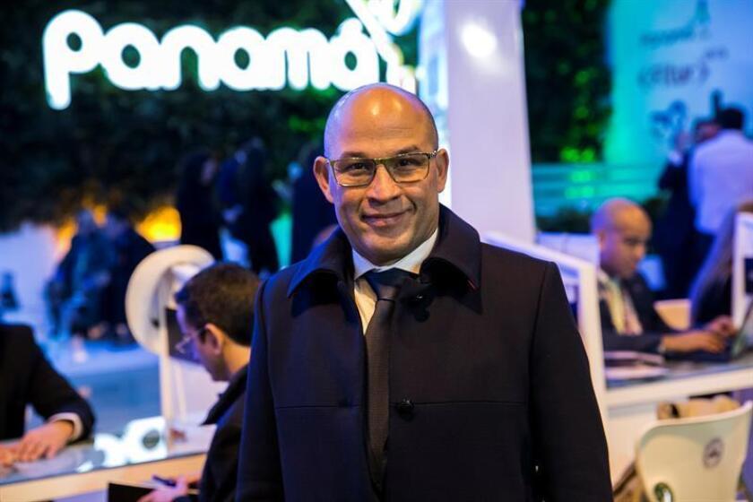 En la imagen, el administrador de la Autoridad de Turismo de Panamá (ATP), Gustavo Him. EFE/Archivo