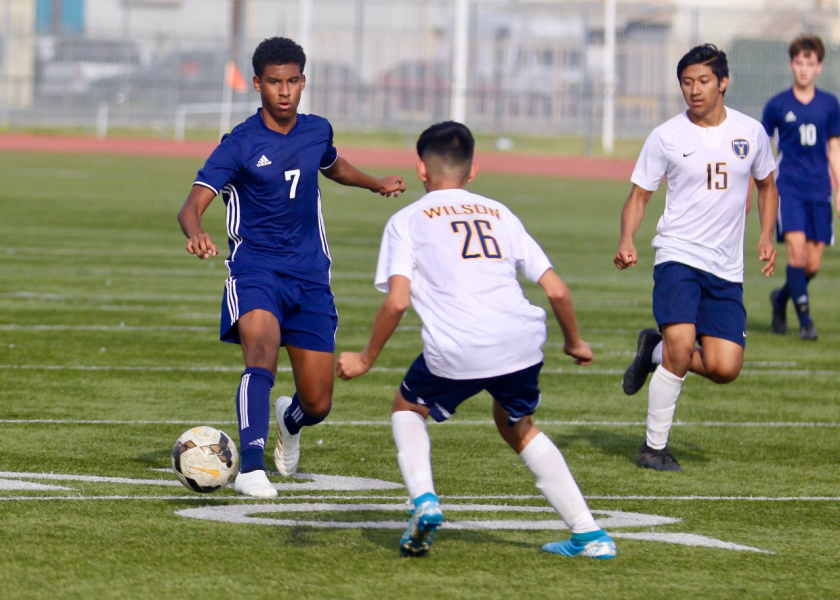 Shane Thomas (7) was an All-City soccer player at Palisades High.