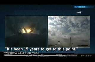LA 90: SpaceX launches recycled rocket