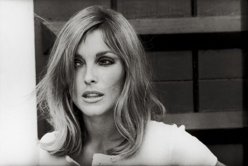 """Sharon Tate in the movie """"Valley of the Dolls"""" in 1967."""