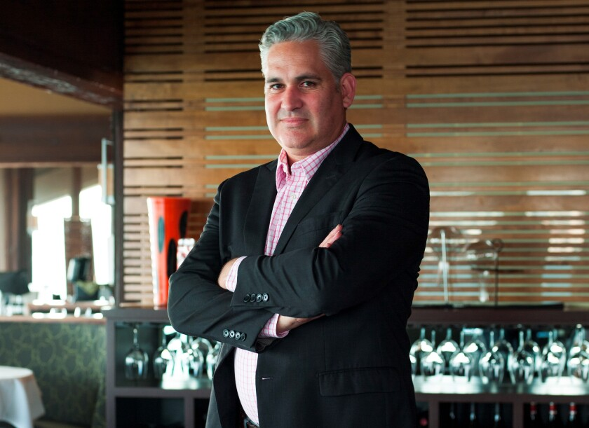 Maurice DiMarino, wine and beverage director, Cohn Restaurant Group.